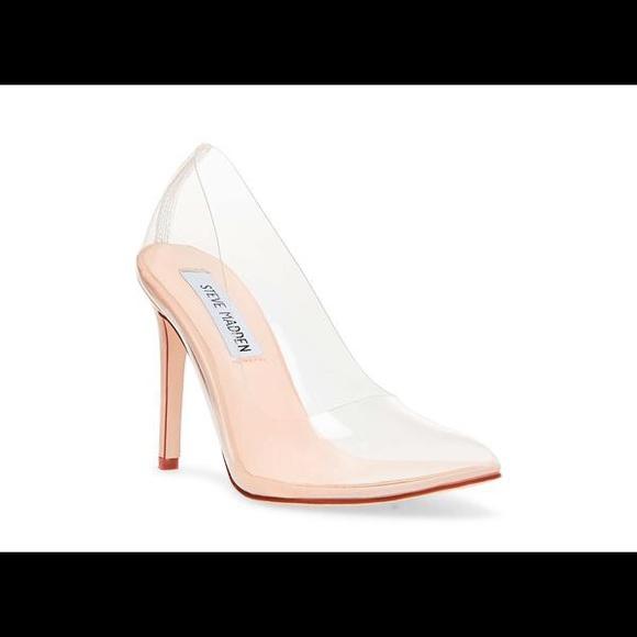 57db921b53f 🔥 Steve Madden Vegas Clear Heel 🔥